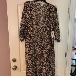 Cheetah Boutique Dress Sz 2X